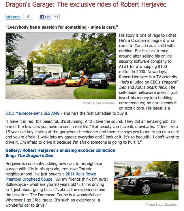 Scarfone Photography On MSN.ca Autos @ Scarfone